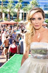 Crystal Hefner at Rehab Pool Party in Las Vegas, August 2015