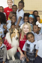 Dakota Fanning - Katrina Anniversary Prep Rally in New Orleans, August 2015