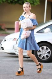 Dakota Fanning - Out in Sherman Oaks, August 2015
