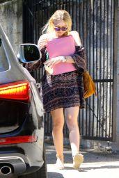 Dakota Fanning - Out in Studio City, August 2015