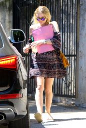 Dakota Fanning - Out in Studio City, August 2015