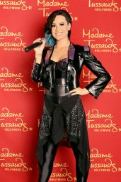 Demi Lovato Checks Herself Out at Madame Tussaud