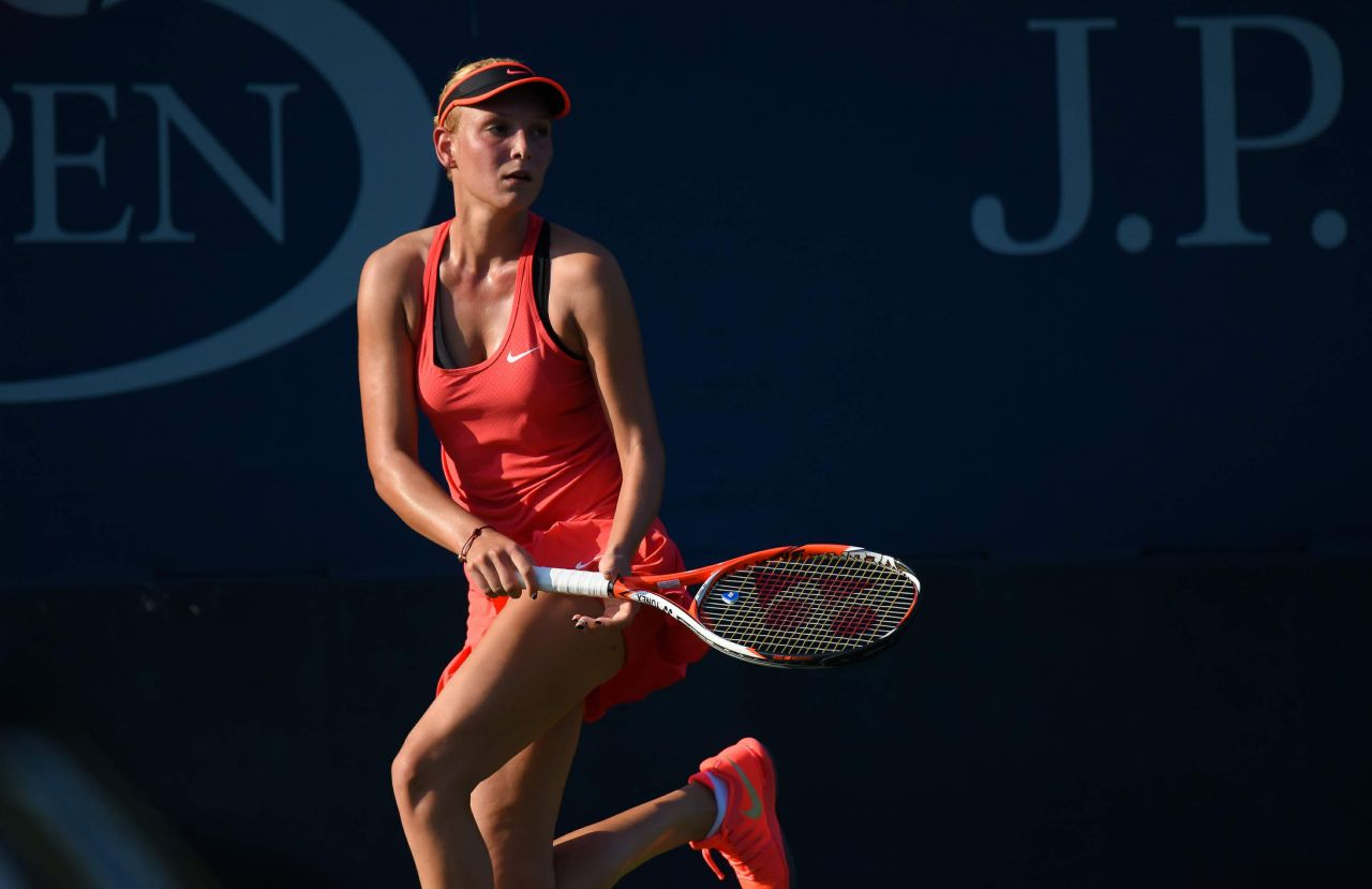 Donna Vekic Match At 2015 Us Open Qualifies In New York