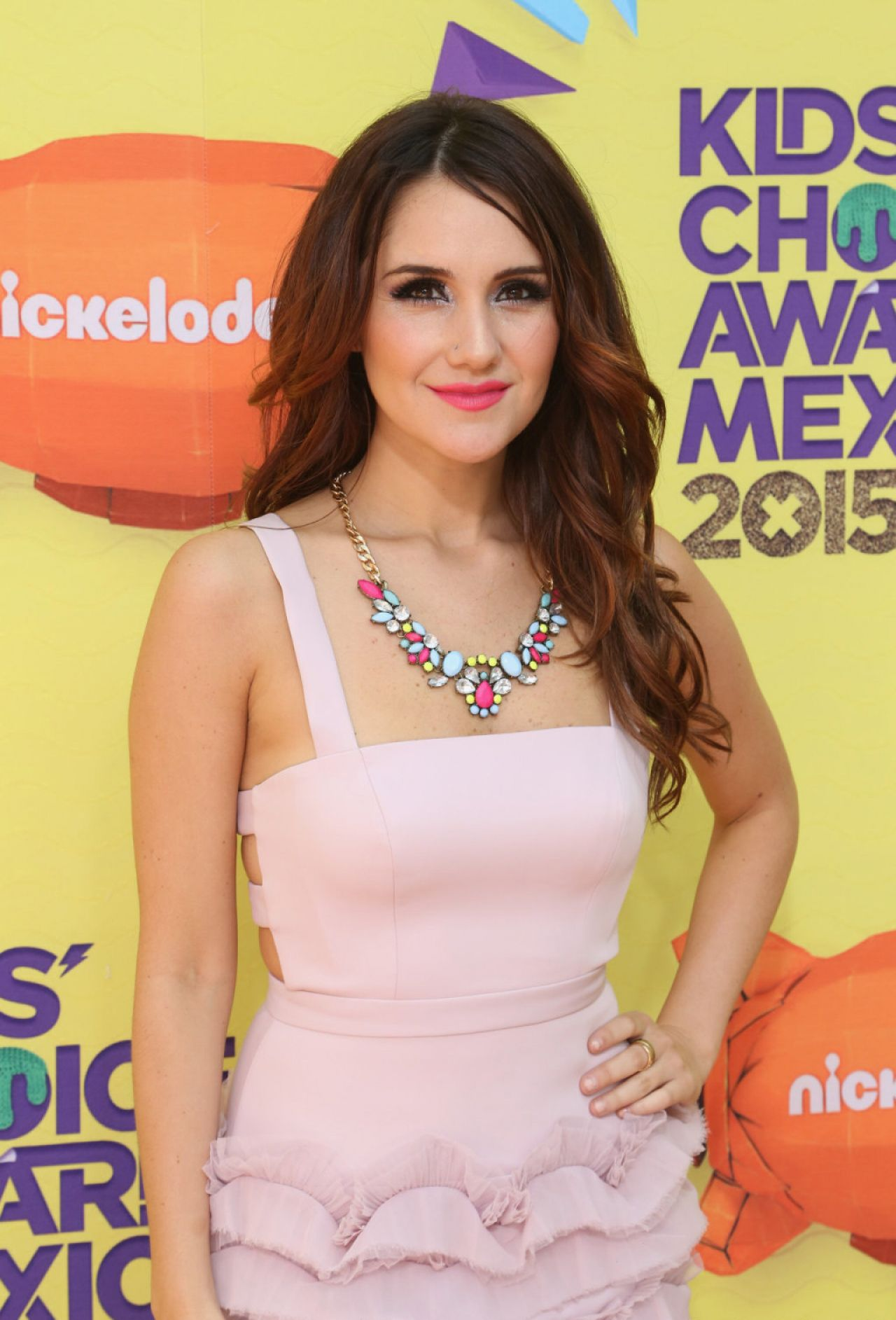 Dulce Maria Nickelodeon Kids Choice Awards Mexico 2015