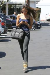 Eiza Gonzalez in Tights - Out in West Hollywood, August 2015