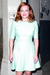 Elisabeth Moss - Out in NYC, August 2015