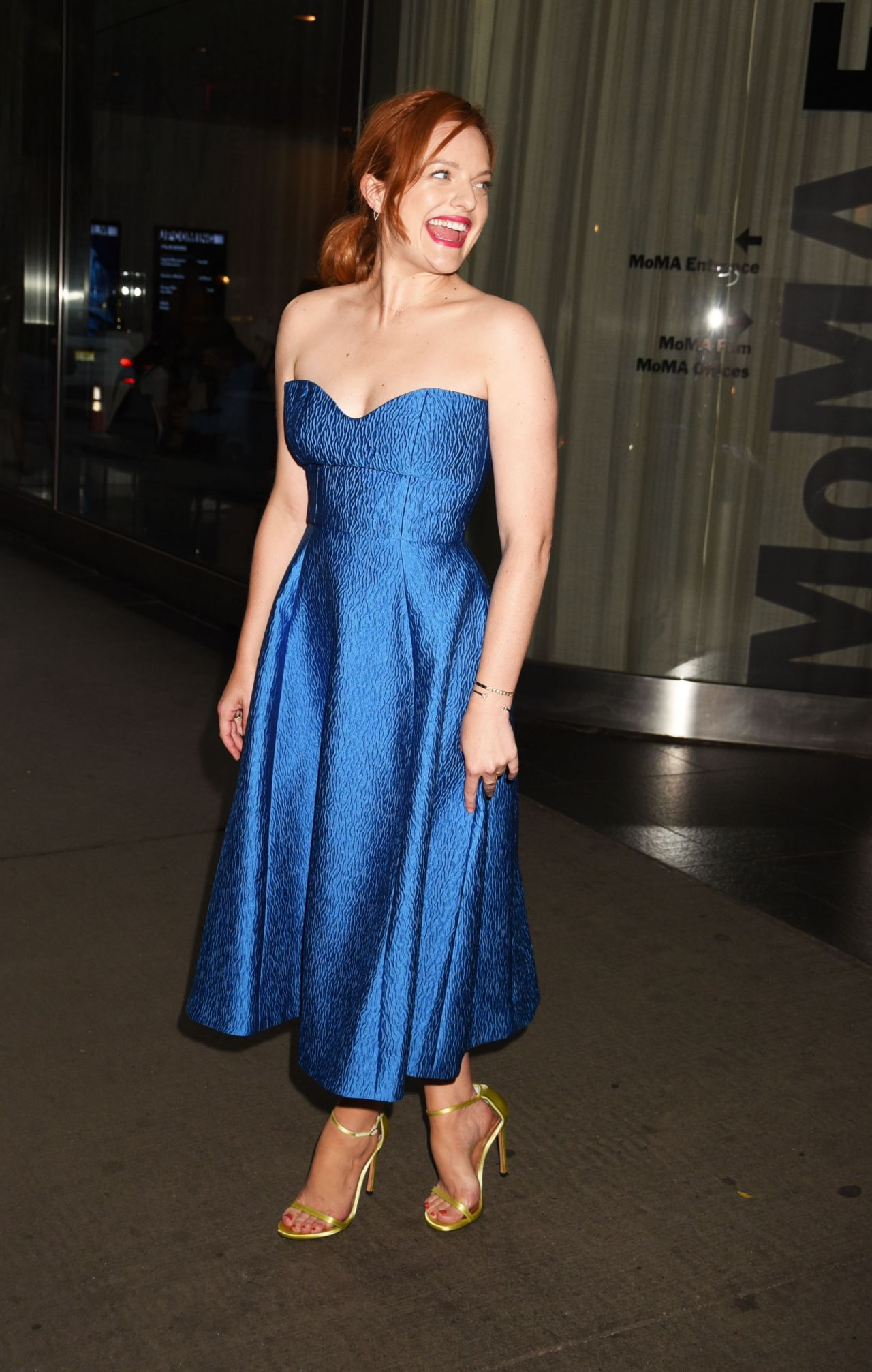 Elisabeth Moss Queen Of Earth Premiere In New York City