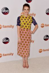 Elizabeth Henstridge – Disney ABC 2015 Summer TCA Press Tour Photo Call in Beverly Hills