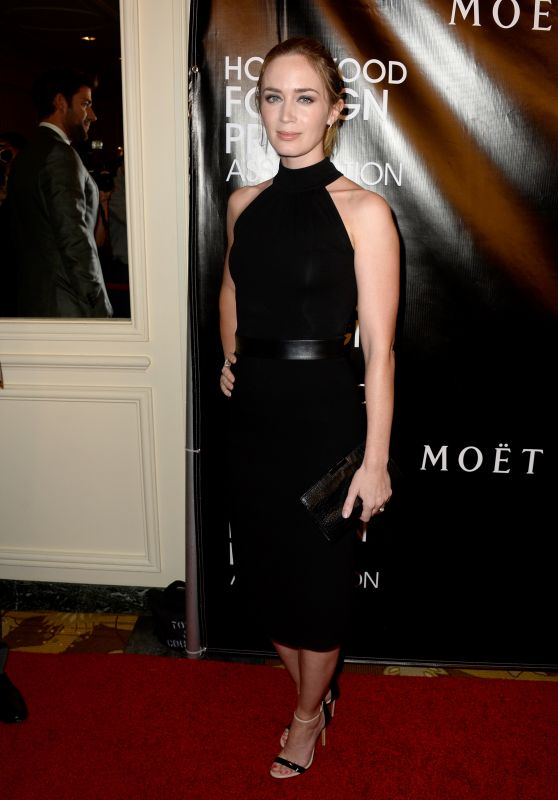Emily Blunt – 2015 Hollywood Foreign Press Association Grants Banquet in Beverly Hills