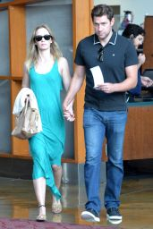 Emily Blunt - Going to a Movie Theatre in Los Angeles, August 2015