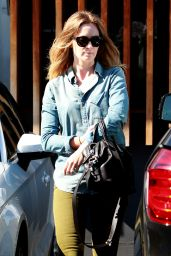 Emily Blunt Going to a Salon in Beverly Hills, August 2015