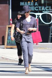 Emily Blunt Shopping in Los Angeles, August 2015