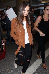 Emily Ratajkowski Airport Style -  LAX, August 2015