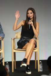 Emily Ratajkowski - Apple Store Soho Presents: Meet The Community Behind Fancy in New York City
