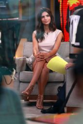 Emily Ratajkowski at 'Good Morning America' in New York City, August 2015