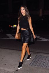 Emily Ratajkowski - Out in New York City, August 2015