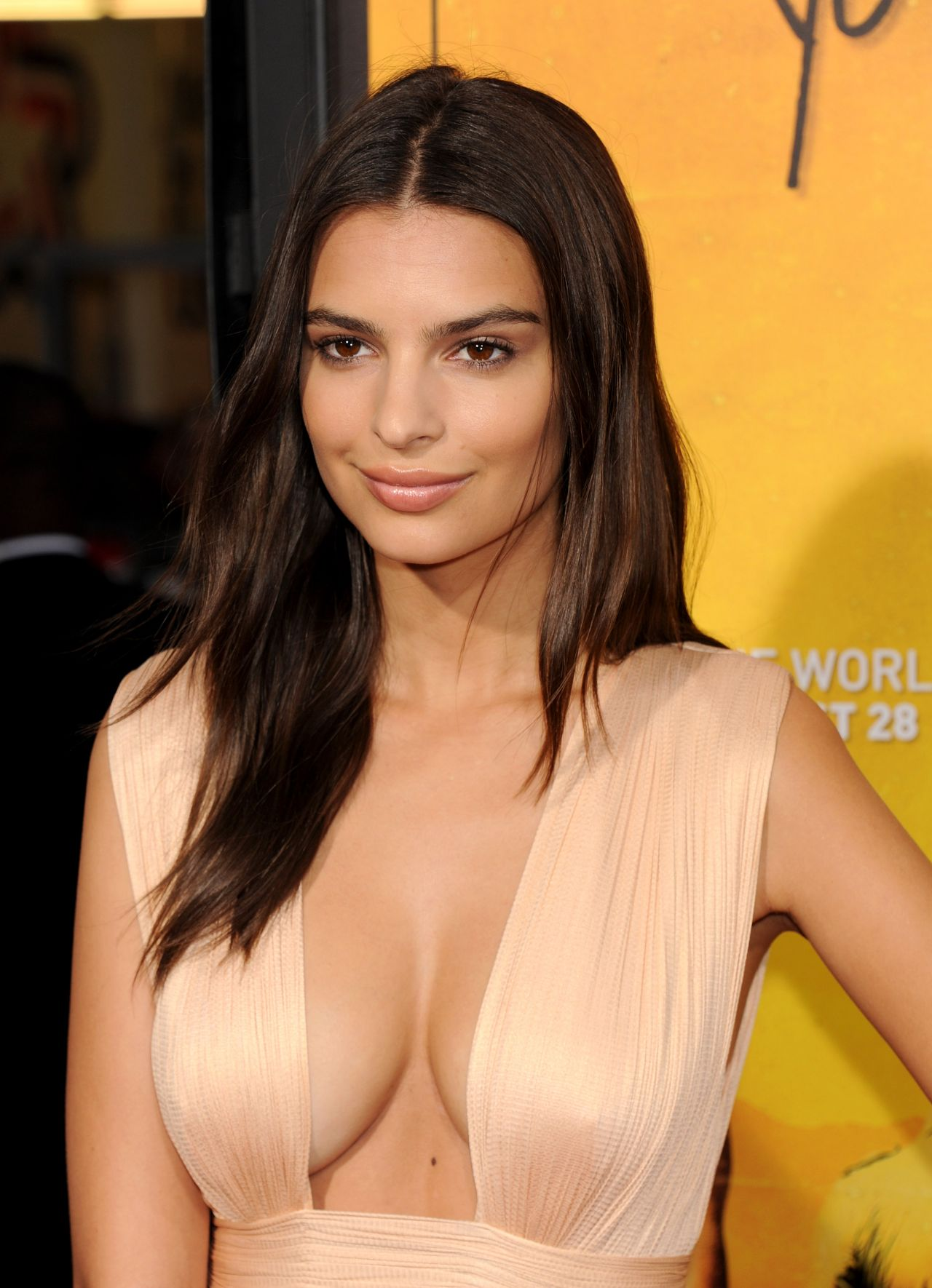 Emily Ratajkowski – We Are Your Friends Premiere in Los Angeles