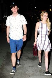 Emma Roberts at Izakaya in West Hollywood, August 2015