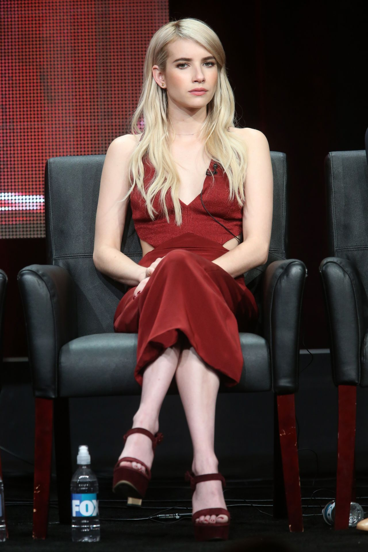 Emma Roberts Scream Queens Panel At 2015 Summer Tca Tour In Beverly Hills