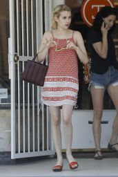 Emma Roberts Summer Style - Out in New Orleans, August 2015