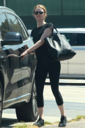 Emma Stone Street Style - Out in LA, August 2015