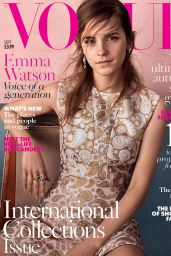 Emma Watson - British Vogue Magazine September 2015 Cover