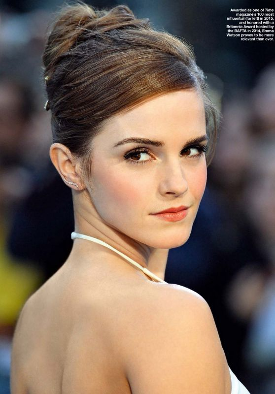 Emma Watson - HOLA! Philippines Magazine - August 2015 Issue