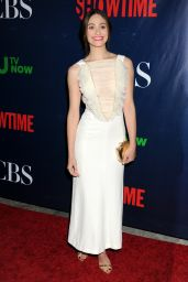 Emmy Rossum - 2015 Showtime, CBS & The CW