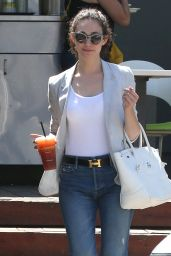 Emmy Rossum - Lemonade Restaurant in Studio City, July 2015