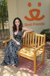 Emmy Rossum - Microsoft and Best Friends Animal Society, Upgrade Your World event in Los Angeles