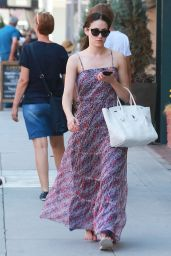 Emmy Rossum Summer Style - Out in Beverly Hills, July 2015