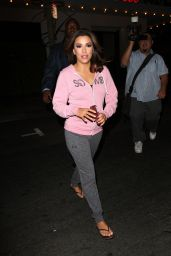 Eva Longoria - Leaves Her Trendy Beso Restaurant in Hollywood, August 2015