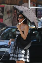 Famke Janssen - Out in New York City, August 2015