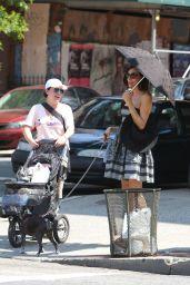 Famke Janssen - Out in New York City, August 2015