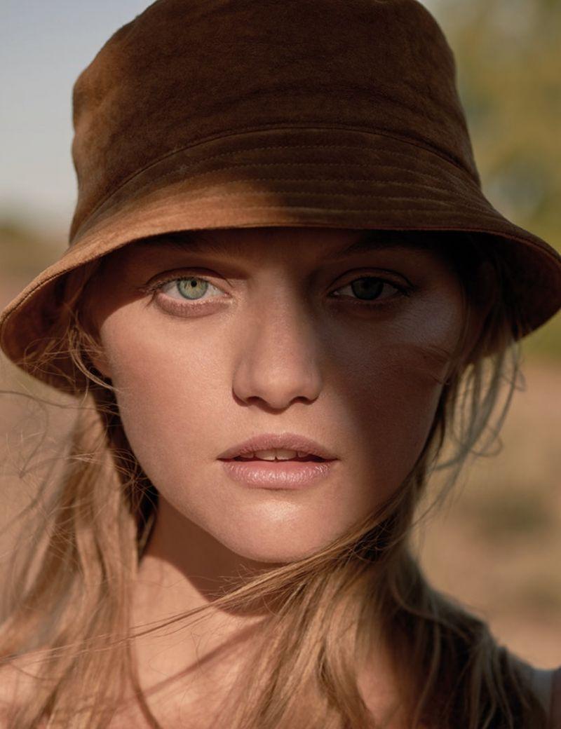 Gemma Ward Photoshoot For Russh Magazine Aug Sept 2015