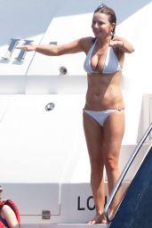Geri Halliwell Bikini Candids - St. Tropez, August 2015