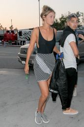 Gigi Hadid - Arriving for the Taylor Swift Concert in Los Angeles, August 2015