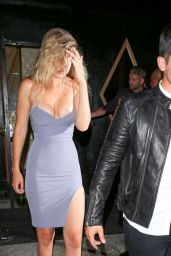 Gigi Hadid Night Out Style - West Hollywood, August 2015