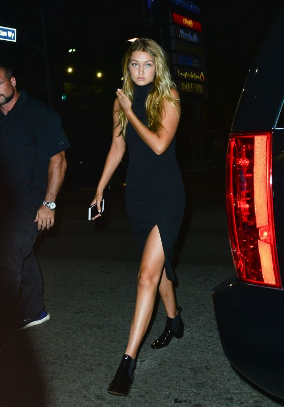 Gigi Hadid - Out in Hollywood, August 2015