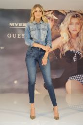 Gigi Hadid Promoting Guess at Myer Macquarie Centre in Sydney, August 2015