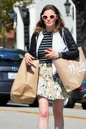Gillian Jacobs - Shopping in Beverly Hills, August 2015