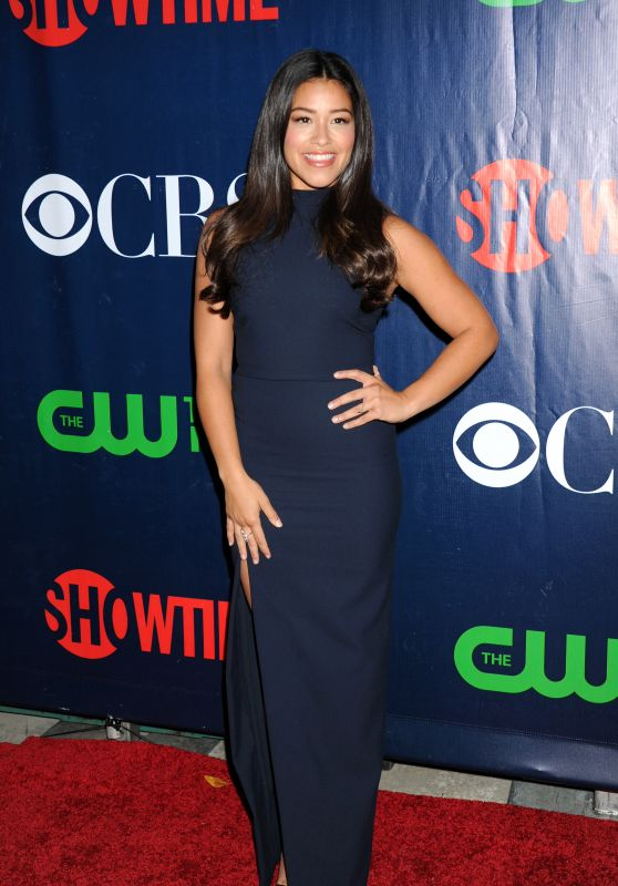 Gina Rodriguez - 2015 Showtime, CBS & The CW