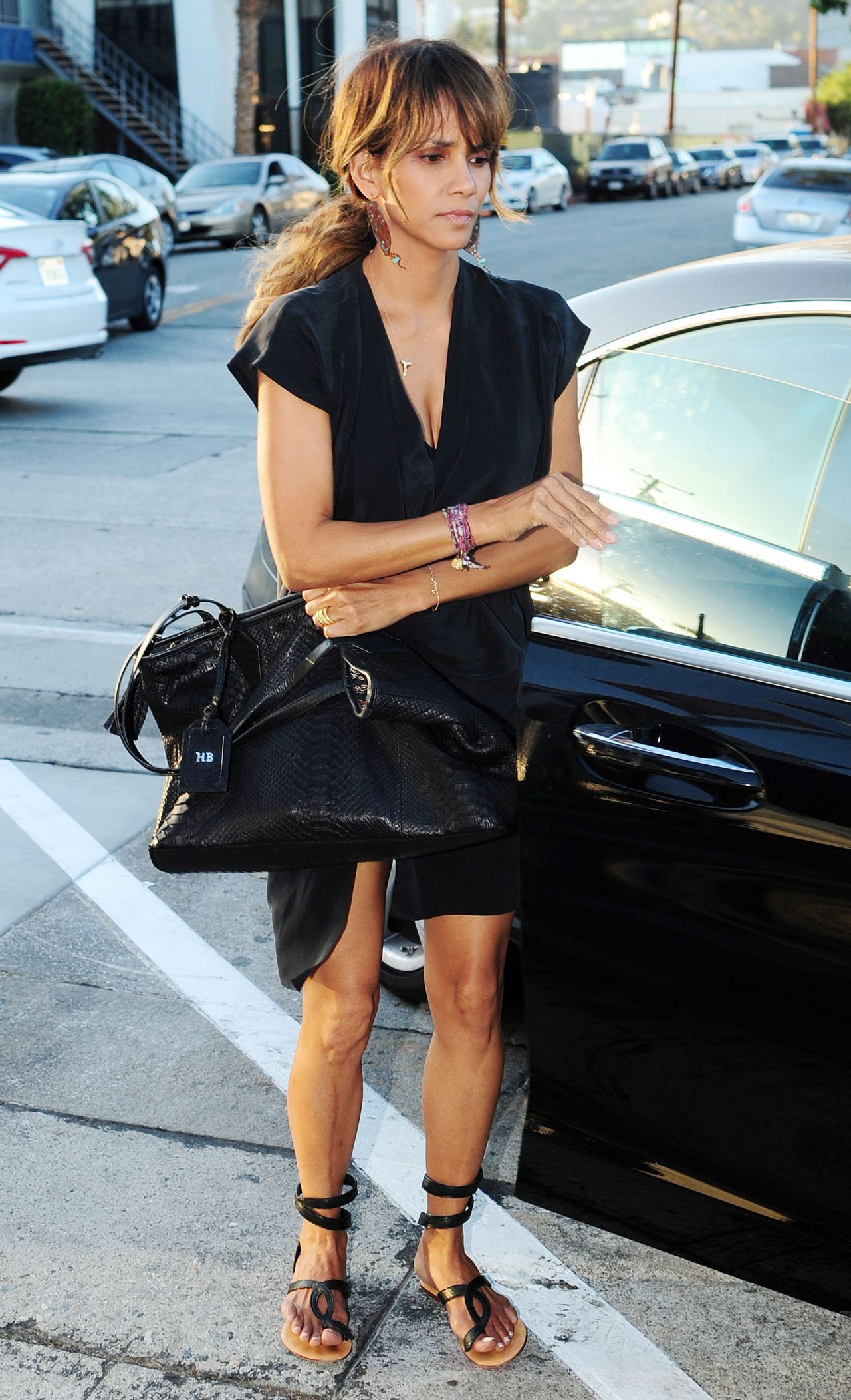 Halle Berry – Craig's Restaurant in West Hollywood, August 2015 Halle Berry