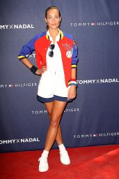 Hannah Davis – Tommy Hilfiger and Rafael Nadal Launch Global Brand Ambassadorship in New York City, August 2015