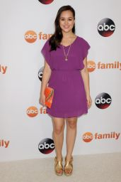 Hayley Orrantia - Disney ABC 2015 Summer TCA Tour in Beverly Hills
