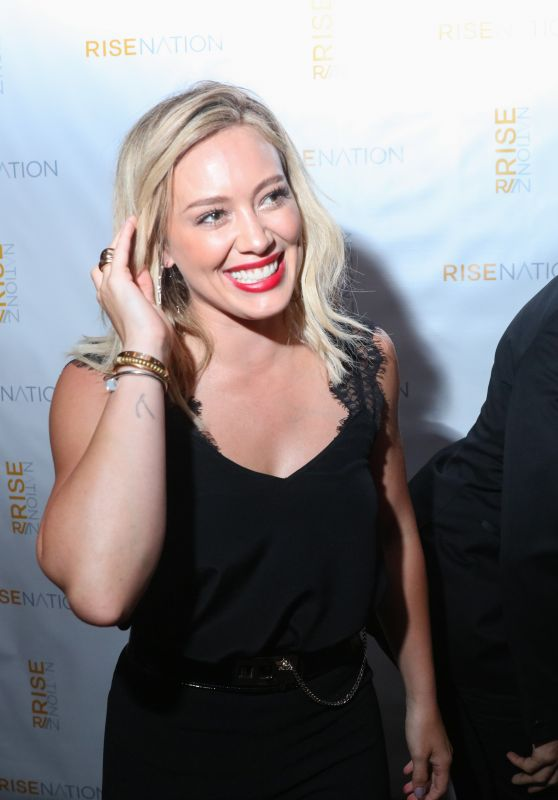 Hilary Duff at Rise Nation Launch Event in West Hollywood, August 2015