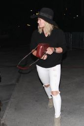 Hilary Duff at the Taylor Swift Concert in Los Angeles, August 2015