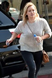Hilary Duff - Out in Los Angeles, August 2015