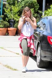 Hilary Duff - Out in West Hollywood, August 2015