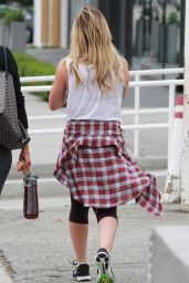 Hilary Duff Street Style - Out and About in Los Angeles, August 2015